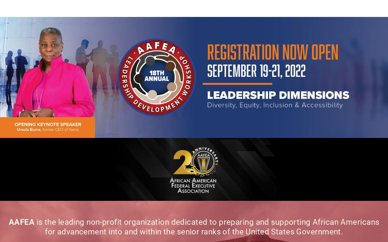 AAFEA | African American Federal Executive Association